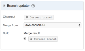 Branch Updater Config
