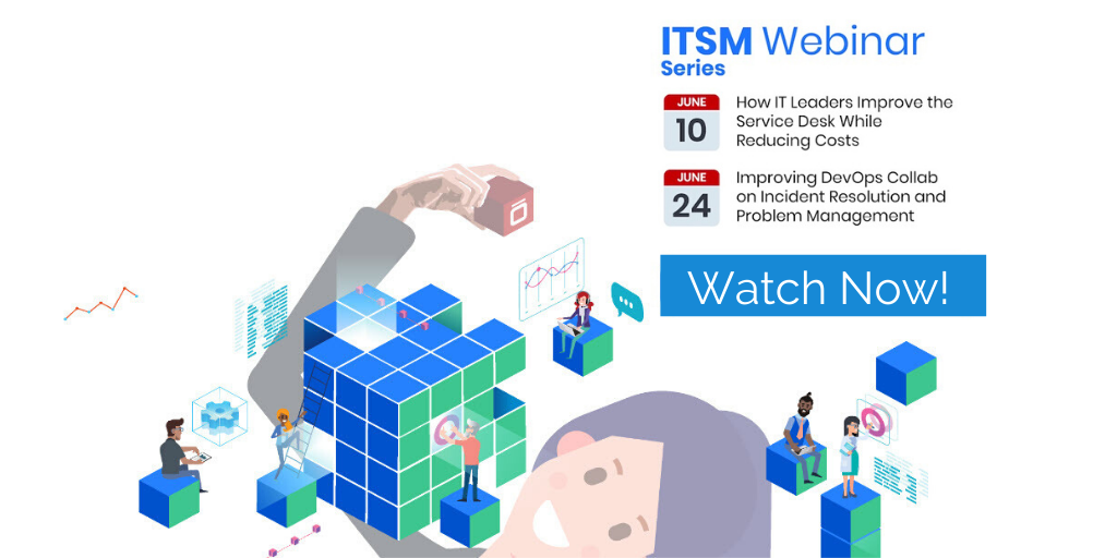 ITSM Isos Tech June webinars